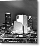 Rock Hall Front And Center  Metal Print