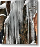 Rock Ice Metal Print