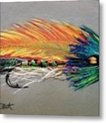 Rock Island Featherwing Streamer Metal Print