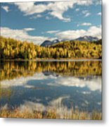 Rock Lake Metal Print