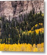 Rock Ledge Metal Print