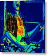 Rock 'n' Roll The Cosmic Blues Metal Print