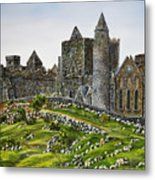 Rock Of Cashel Ireland Metal Print