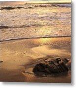 Rock On The Beach Metal Print