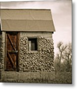 Rock Shed 2 Metal Print