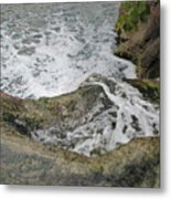 Rock Water Metal Print
