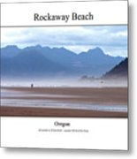 Rockaway Beach Metal Print