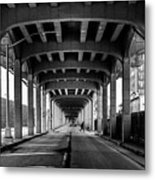 Rockaway Freeway, Queens New York Metal Print