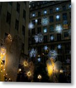 Rockefeller Center Christmas Metal Print
