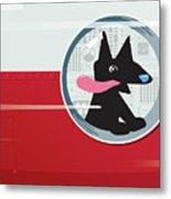 Rocket Dog Metal Print