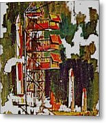 Rockets To Mars Metal Print