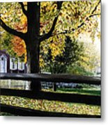 Rockford In Autumn Metal Print