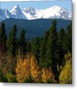 Rockies Mtn M 204 Metal Print