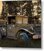 Rockies Transport Metal Print