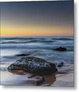 Rockin The Sunrise Seascape Metal Print