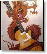 Rocking Dragon Metal Print