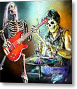 Rocking The Free Spirits Metal Print