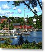 Rockport Harbor Metal Print