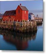 Rockport Ma Fishing Shack - #1 Metal Print