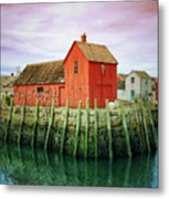 Rockport, Motif No. 1, Fishing Shack Metal Print