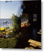 Rockport Yacht Clubhouse Metal Print