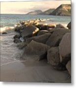 Rocks And Hills Metal Print