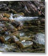 Rocks And Little Water Metal Print