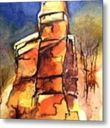 Rocks Of Lovett Metal Print