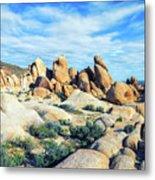 Rocks Upon Rocks Metal Print