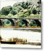 Rockville Bridge On The Susquehanna River Metal Print