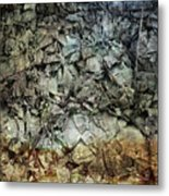 Rocky Abstraction Metal Print