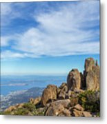 rocky Australian mountain summit Metal Print