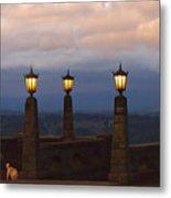 Rocky Butte Lamps Metal Print