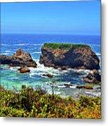 Rocky California Coast 006 Metal Print