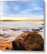 Rocky Cliffs Metal Print