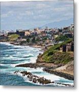 Rocky Coast Of Puerto Rico Metal Print