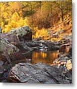 Rocky Creek II On Mill Mountain In The Missouri Ozarks Metal Print