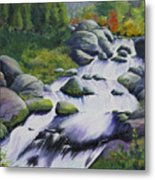 Rocky Creek Metal Print