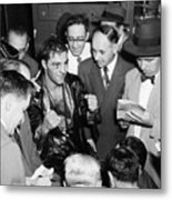 Rocky Marciano (1924-1969) Metal Print by Granger