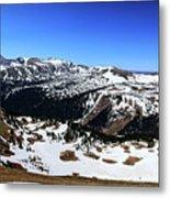 Rocky Mountain National Park Pano 2 Metal Print