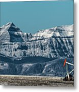 Rocky Mountain Oil Metal Print