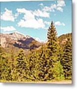 Rocky Mountain Panorama Metal Print