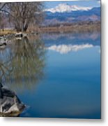 Rocky Mountain Reflections Metal Print