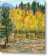 Rocky Mountain Siesta Metal Print
