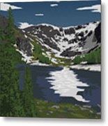 Rocky Mountain Metal Print