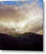 Rocky Mountain Sky Metal Print
