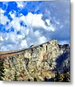 Rocky Mountain Summit Metal Print