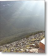 Rocky Mountain Sunbeam II Metal Print
