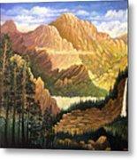 Rocky Mountain Sunrise Metal Print