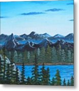 Rocky Mountain View Metal Print